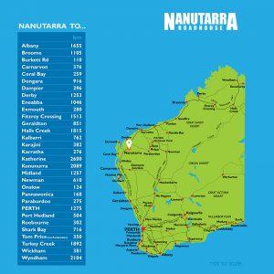 Distances Map